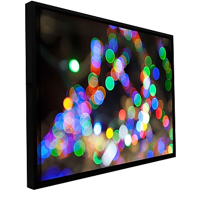 ArtWall 'Bokeh 1' Gallery-Wrapped Canvas 32