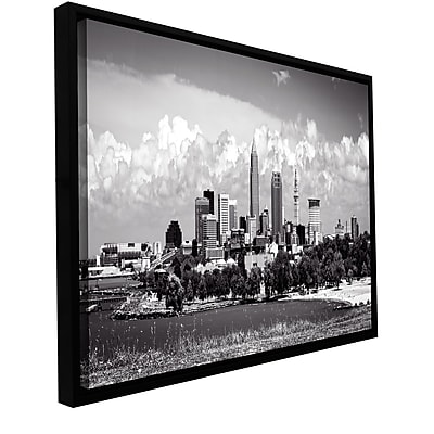 ArtWall 'Cleveland Pano 1' Gallery-Wrapped Canvas 12