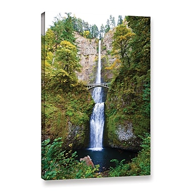 ArtWall 'Multnomah Falls' Gallery-Wrapped Canvas 12