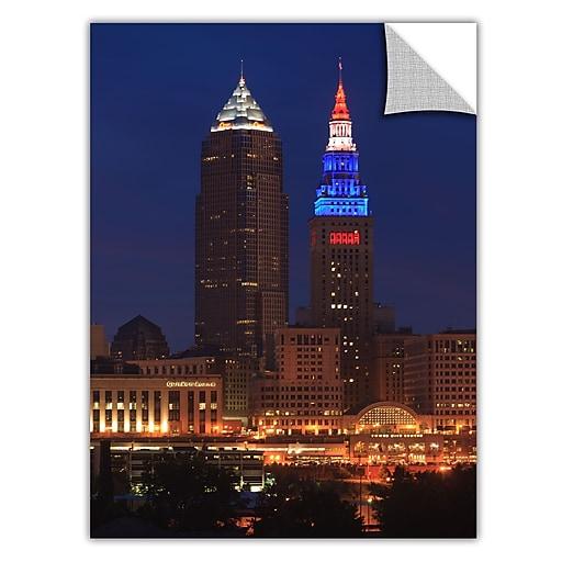 "ArtWall 'Cleveland 4' Art Appeelz Removable Wall Art Graphic 24"" x 36"" (0yor017a2436p)"