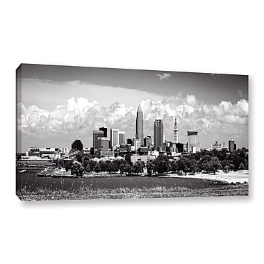 ArtWall 'Cleveland Pano 1' Gallery-Wrapped Canvas 18