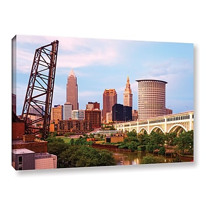 ArtWall 'Cleveland 10' Gallery-Wrapped Canvas 16