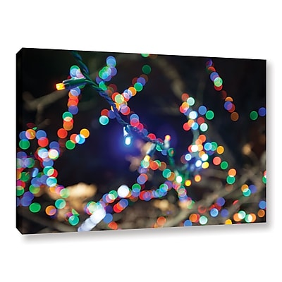 ArtWall 'Bokeh 3' Gallery-Wrapped Canvas 24