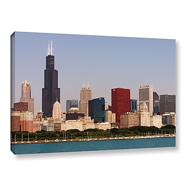 ArtWall 'Chicago' Gallery-Wrapped Canvas 12