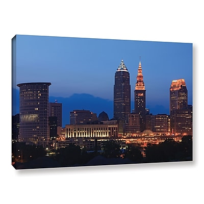 ArtWall 'Cleveland 17' Gallery-Wrapped Canvas 16