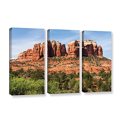 ArtWall 'Sedona 2' 3-Piece Gallery-Wrapped Canvas Set 36