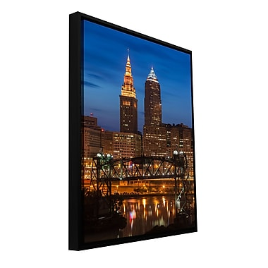 ArtWall 'Cleveland 14' Gallery-Wrapped Canvas 24