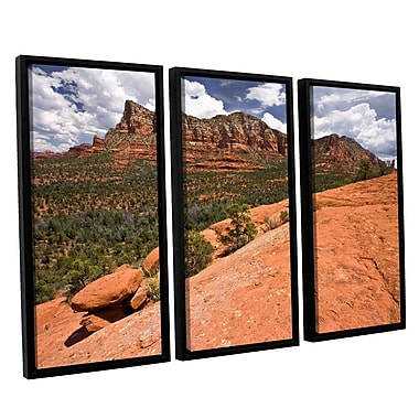 ArtWall 'Sedona' 3-Piece Canvas Set 36
