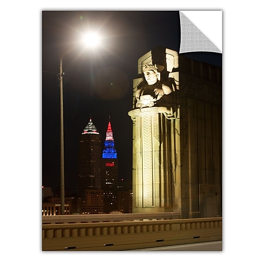 "ArtWall 'Cleveland 6' Art Appeelz Removable Wall Art Graphic 32"" x 48"" (0yor019a3248p)"