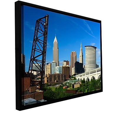 ArtWall 'Cleveland 13' Gallery-Wrapped Canvas 12