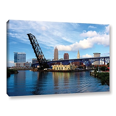 ArtWall 'Cleveland 12' Gallery-Wrapped Canvas 24