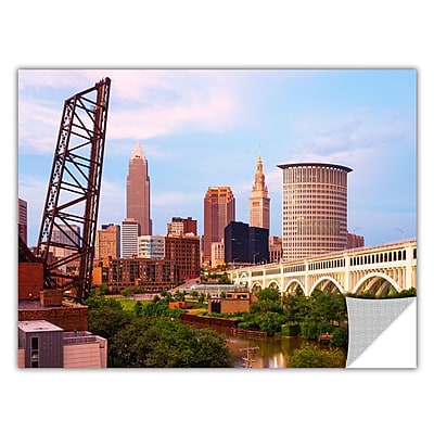 ArtWall 'Cleveland 10' Art Appeelz Removable Wall Art Graphic 24