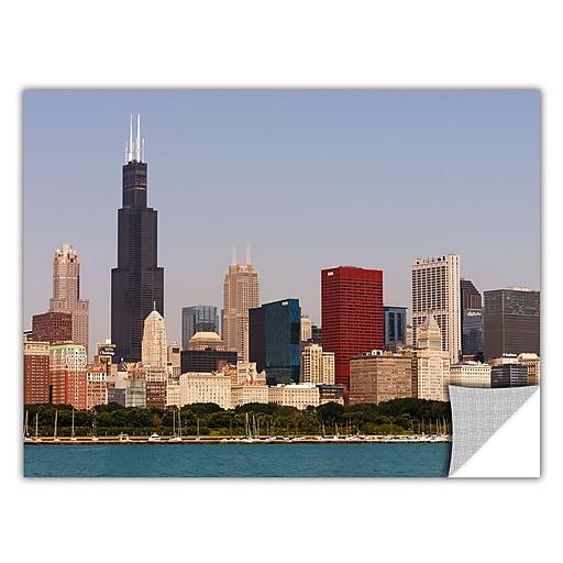 "ArtWall 'Chicago' Art Appeelz Removable Wall Art Graphic 12"" x 18"" (0yor013a1218p)"