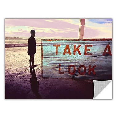 ArtWall 'Take A Look' Art Appeelz Removable Wall Art Graphic 14