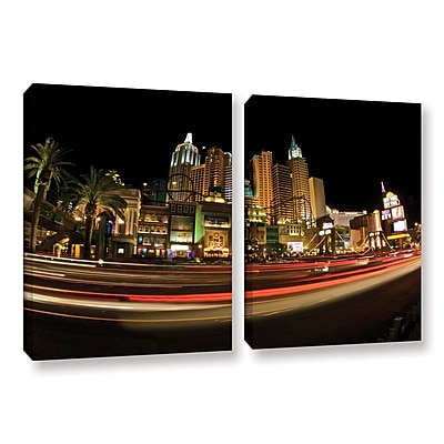 ArtWall 'New York New York' 2-Piece Gallery-Wrapped Canvas Set 32