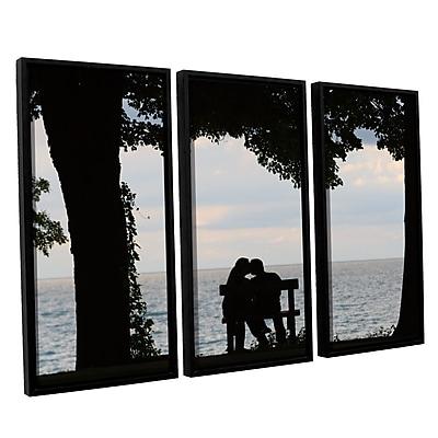 ArtWall 'Silhouette' 3-Piece Canvas Set 36