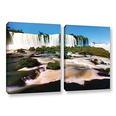ArtWall 'Brazil 2' 2-Piece Gallery-Wrapped Canvas Set 32