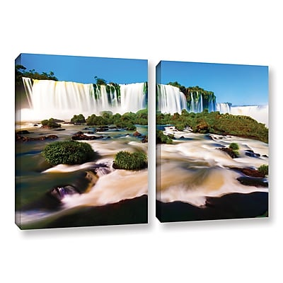 ArtWall 'Brazil 2' 2-Piece Gallery-Wrapped Canvas Set 18