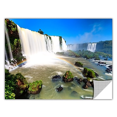 ArtWall 'Iguassu Falls 3' Art Appeelz Removable Wall Art Graphic 32