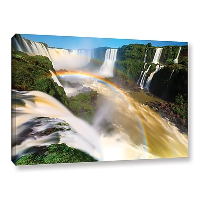 ArtWall 'Iguassu Falls 2' Gallery-Wrapped Canvas 16