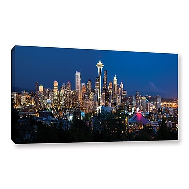ArtWall 'Seattle 3' Gallery-Wrapped Canvas 12