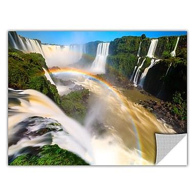ArtWall 'Iguassu Falls 2' Art Appeelz Removable Wall Art Graphic 32