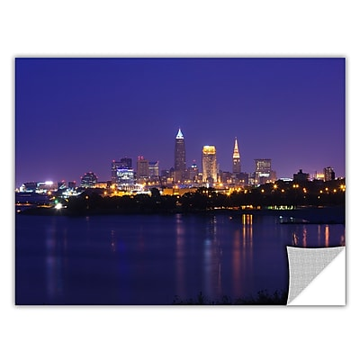 ArtWall 'Cleveland 18' Art Appeelz Removable Wall Art Graphic 24