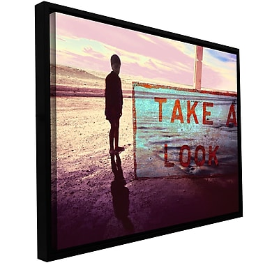 ArtWall 'Take A Look' Gallery-Wrapped Canvas 18