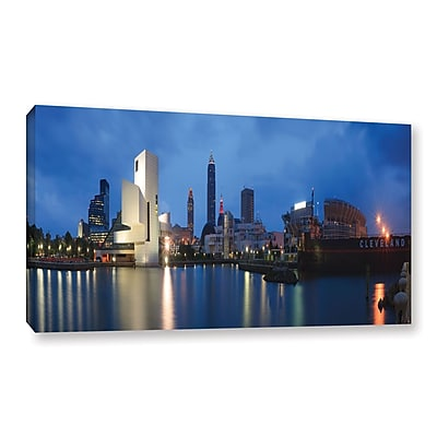 ArtWall 'Cleveland!' Gallery-Wrapped Canvas 12