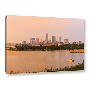 ArtWall 'Cleveland 19' Gallery-Wrapped Canvas 12