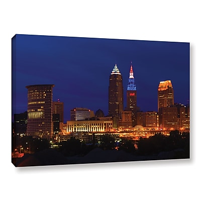ArtWall 'Cleveland 5' Gallery-Wrapped Canvas 16