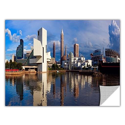"ArtWall 'Cleveland 20' Art Appeelz Removable Wall Art Graphic 24"" x 48"" (0yor033a2448p)"
