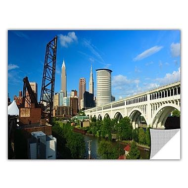 ArtWall 'Cleveland 11' Art Appeelz Removable Wall Art Graphic 18