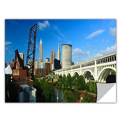 ArtWall 'Cleveland 11' Art Appeelz Removable Wall Art Graphic 24