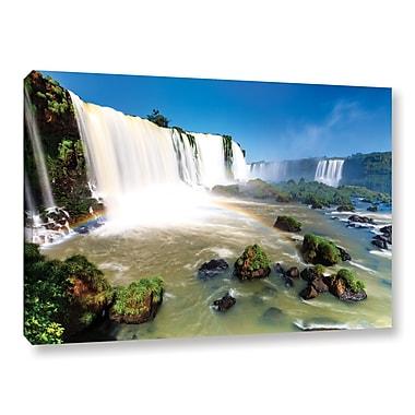ArtWall 'Iguassu Falls 3' Gallery-Wrapped Canvas 16