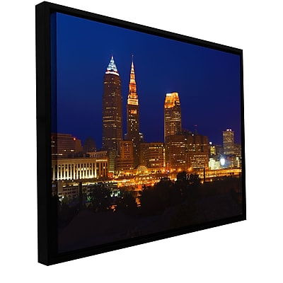 ArtWall 'Cleveland 15' Gallery-Wrapped Canvas 12