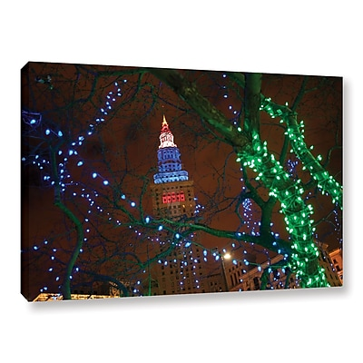 ArtWall 'Terminal Tower' Gallery-Wrapped Canvas 12