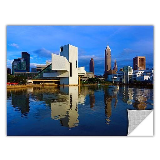 "ArtWall 'Cleveland 2' Art Appeelz Removable Wall Art Graphic 32"" x 48"" (0yor015a3248p)"