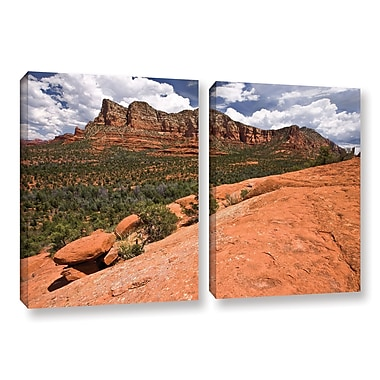 ArtWall 'Sedona' 2-Piece Gallery-Wrapped Canvas Set 18