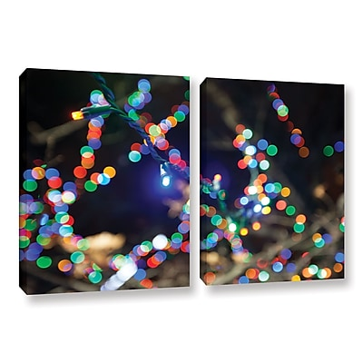 ArtWall 'Bokeh 3' 2-Piece Gallery-Wrapped Canvas Set 32