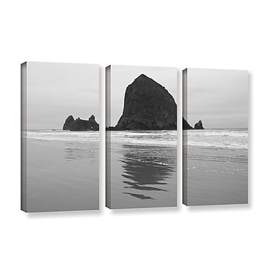ArtWall 'Goonies Rock' 3-Piece Gallery-Wrapped Canvas Set 36