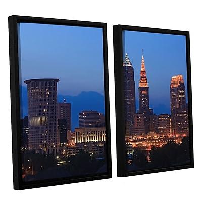 ArtWall 'Cleveland 17' 2-Piece Canvas Set 32