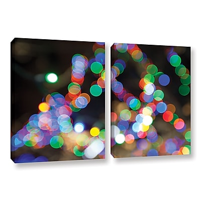ArtWall 'Bokeh 1' 2-Piece Gallery-Wrapped Canvas Set 32