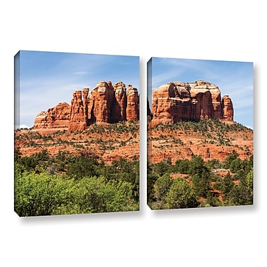 ArtWall 'Sedona 2' 2-Piece Gallery-Wrapped Canvas Set 32