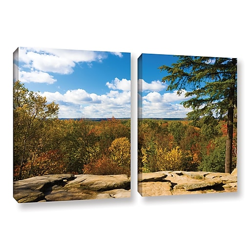 "ArtWall 'Virginia Kendall' 2-Piece Gallery-Wrapped Canvas Set 32"" x 48"" (0yor060b3248w)"