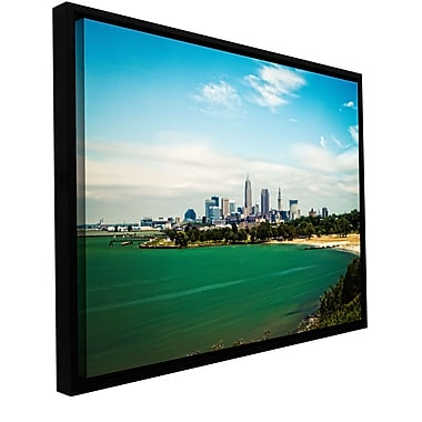 ArtWall 'Cleveland 22' Gallery-Wrapped Canvas 16