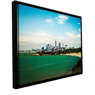 ArtWall 'Cleveland 22' Gallery-Wrapped Canvas 24