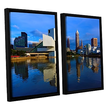 ArtWall 'Cleveland 2' 2-Piece Canvas Set 32