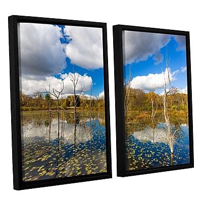 ArtWall 'Beaver Marsh' 2-Piece Canvas Set 32
