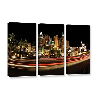 ArtWall 'New York, New York' 3-Piece Gallery-Wrapped Canvas Set 36